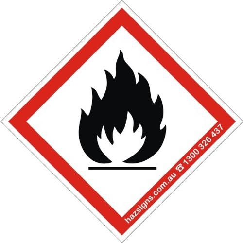 Ghs pictograms flammable